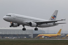 LZ-BHC - 1992 build Airbus A320-212, arriving on Runway 09 at East Midlands (egcc) Tags: holidays airbus ema a320 balkan bgh eastmidlands 349 castledonington a320212 egnx bhair lzbhc