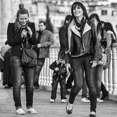 'what a funny shot' (Gerard Koopen) Tags: bw turkey streetphotography antalya turkije funnyshot straatfotografie 2013