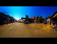 Parthasarathy Temple - Triplicane, Chennai, Tamilnadu - HDR (AravindiA) Tags: india architecture lens sony fisheye chennai 8mm hdr tamilnadu f35 rectilinear uwa ultrawideangle samyang tonemapping triplicane parthasarathytemple samyang8mmf35asphericalifmcfisheye  slta37 sonyalphaslta37 parathasarathyswamythirukoil