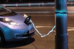 Nissan Leaf 2012 9 (Janitors) Tags: cable ev electricity charging nissanleaf2012
