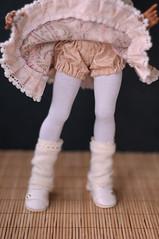 For momocolor, bloomers (Trotilla) Tags: stockings shoes dress pants handmade bjd yasmin bloomers gaiters 2013 momocolor 201303 lucytan formomocolor
