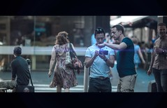 Touch Screen (James Yeung) Tags: movie lens candid melbourne flare cinematic