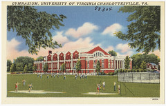 Gymnasium, University of Virginia, VA.