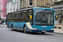Arriva Mercedes Citaro 3922.BK58URP - Oxford (dwb transport photos) Tags: bus oxford mercedesbenz arriva citaro 3922 bk58urp