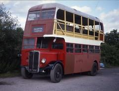 OD7500 (21c101) Tags: bus brush devon 88 regent 213 1949 1933 aec devongeneral winkleigh busrestoration aecregent od7500 dr213