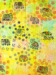 Block print to create your own elephant wall art (Colouricious) Tags: design textile fabric textiles textileart blockprinting textiledesign fabricart fabricprinting blockprintedfabric printingtechniques textiletechniques blockprintingdesigns
