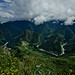 Machu Picchu - from la Montana - Peru
