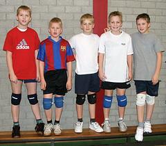 2008 Mini  2: Bram Brink, Leon Tromp, Maarten Grootens, Steven Veldman, Gerard Alberts