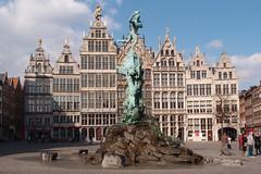 Antwerpen - Grote Markt (Arco Ardon) Tags: belgium belgique belgië antwerpen grotemarkt brabofontein