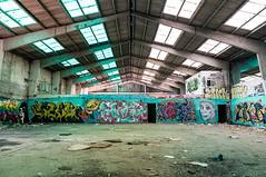 La Fabrica - 39 (r2hox) Tags: graffiti urbanart santiagodecompostela arteurbano abandonedspaces