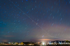 Revolve (AlanMarlowe) Tags: longexposure arizona night stars landscape az prescott d5100