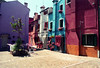 The colors of Burano (calle pizzo) (Laurent photography) Tags: street city travel venice light wallpaper italy color film colors architecture french geotagged photography nikon europe flickr cityscape ile romantic hd 365 nikkor fx geographic burano f90x nationalgeographic argentic flickrs supershot edgeoftown anawesomeshot infinestyle theartistseyes laurentphotography