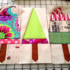 #patchwork progress #sewing #paperpiecing #pinkpenguin #popsicle (kcalgary) Tags: square sewing squareformat patchwork popsicle paperpiecing pinkpenguin iphoneography instagramapp uploaded:by=instagram katrinahertzer kcalgary khcalgary