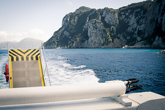 Wake trail to capri