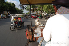 riding a calesa horse drawn cart (2) (BohemianTraveler) Tags: old city horse heritage architecture island town site asia pacific district philippines colonial chinese unesco mexican spanish filipino sur vigan ilocos kalesa luzon calesa mestizo