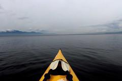 Floating (Hunter!!!!) Tags: ocean nature water outdoors coast boat kayak nimbus harbour britishcolumbia paddle kayaking paddling sechelt sunshinecoast pender malaspina georgiastrait solander secretcove texeda