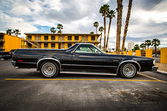 Ranchero (melfoody) Tags: ford car canon lasvegas awesome motel explore palmtrees americana ranchero explored coupeutility melfoody