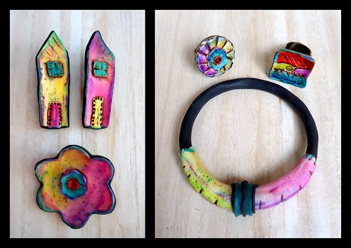 brooches,bangle and rings...