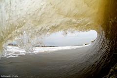 Morning Barrel (Jay Rutkowski) Tags: sunset clouds newjersey spring nikon underwater barrel wave surfing d200 shred underwaterphotography surfphotography splwaterhousing