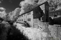 Devon Watermill in Infra Red (Ellis Pictures) Tags: