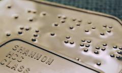 Blind & Sighted (Caroline.32) Tags: dogtags keychain braille metal print macromondays macro opposites nikond3200 18140mmlens extensiontubes20mm blind sighted