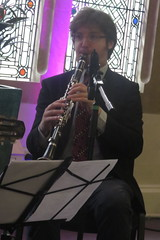 Benoit Viellefon Quartet (2016) 04 - Dave Shulman (KM's Live Music shots) Tags: greatbritain jazz swing clarinet outtolunch cadoganhall swingmanouche daveshulman benoitviellefon