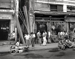 Rangoon, Burma (Dizzy Atmosphere) Tags: burma myanmar rangoon yangon streetscene street businessdistrict hardwarestore fujigs645s