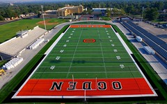 Ogden High School Stadium 2016 (DennyMont) Tags: aerialimages inspire ogden ogdenhighschool
