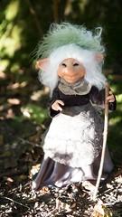 Troll Lillian (Shirleys Studio | Handmade Art Dolls) Tags: shirleysstudio shirleys studio beeldende kunst art artist grotto troll ooak dolls trollen trolletjes boswezens fantasy doll artdoll trol trolls figurine handmade