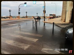 Grande Pozzanghera (triziofrancesco) Tags: pozzanghera water acqua maltempo pioggia rain street road strada puddle