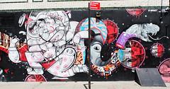 Puerto Rican in Williamsburg (marianagonzalez9) Tags: williamsburg newyork painters painting art streetart street