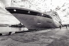 The Hamburg Cruiseship_4323 (hkoons) Tags: cruiseship northatlantic oceanliner atlantic capital city harbor iceland reykjavik boat island liner marine north ocean salty sea ship vessel