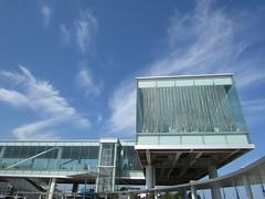 Niigata/Ibaraki '16 #25 (tt64jp) Tags: 日本 茨城 日立 japan japon ibaraki hitachi station 駅 日立駅 hitachistation 空 雲 sky cloud 일본 japanese