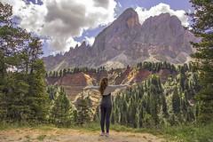 Canyon Passo delle Erbe (Douglas M.P.) Tags: canyon montagna mountain libert vuoto altezza natura selvaggia natur nuvole clouds girl ragazza italy