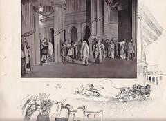 Scene 13 of a 1900 production of Ben Hur (mharrsch) Tags: benhur play presentation lewwallace production novel souvenirbooklet publicdomain 1900 mharrsch