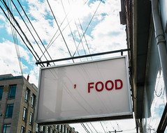 Food (Yewbert The Omnipotent) Tags: toronto canada lightroom city urban downtown parkdale tamron nikon d750 sky clouds signs sign