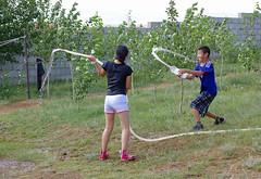IMGP9821 (Henk de Regt) Tags: mongolië mongolia mohron mce buhug vrijwilligers volunteers children kinderen school sport games fun waterfight slangenmens contortionist summercamp