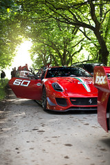 599XX (Will Foster Photo) Tags: ferrari 599xx 599 xx cars car supercars goodwood festival speed fos 2015 hill climb fast engine loud red trees hypercars wheels exhaust will foster photo photography canon 6d automotive