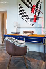 Sweet suite_06 (Decoratrix.com) Tags: casadecor decoración interiorismo madrid exposición 2016 escritorio butaca lámapra geometría