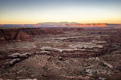 Canyonlands Sunset (QuinnRJ) Tags: white crack canyonlands national park utah sunset landscape outdoor nature