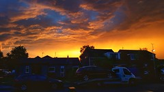 Crazy sky this evening... (Warwick Wolf) Tags: sunset cloud