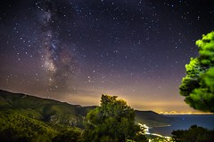 A magical night (Vagelis Pikoulas) Tags: tonight night nightscape view landscape sea seascape canon 6d tokina 1628mm porto germeno greece europe summer 2016 august milky milkyway way stars star long exposure space universe