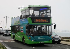 Southern Vectis Scania Omnicity bodied Scania N270UD VDL744 in Shanklin 27 August 2016 (IslandYorkie) Tags: buses busesinthesouthofengland busesontheisleofwight doubledecker scaniabuses scanian270ud scaniabody scaniaomnicity vdl744 1111 phoenix opentopbuses southernvectis svoc goaheadgroup gosouthcoast shanklinsteamer islandbreezer shanklin isleofwight