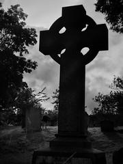 Living Cherub (Feldore) Tags: child graveyard cemetery celtic cross little boy friars bush belfast northern irish feldore mchugh em1 olympus 1240mm cherub gravestone ghostly