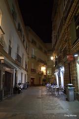 Cadiz (23) (crgmry) Tags: cadiz andalucia narrowstreet historiccity historic picturesque night