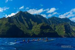 Na Pali Race 2016 - Hoe Wa'a Wana'o (poidawgie) Tags: 2016 canoes canon6d hawaii kauai napalichallenge outrigger racing