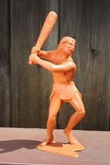 "6"" Caveman (Marx 1963) (Donald Deveau) Tags: caveman marx plastictoy vintagetoy prehistoric"