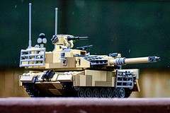 """All Quiet on the Western Front..."" (ABS Defence Systems) Tags: lego tank mbt leopard 2 outdoors"