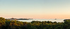 Rovinj (genf) Tags: rovinj istria istrië croatie hrvatska kroatië sea zee sunset zonsondergang mood trees bomen holiday vakantie village dorp church kerk kerktoren sony a77 panorama