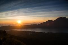 Sunrise at Mt. Batur (soni.jayantika) Tags: bali travel holiday outdoors islandlife natural light asia indonesia colors blues sunrise mount batur volcano active rays beauty